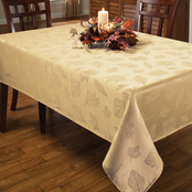 Benson Mills Harvest Legacy Damask Tablecloth, 60 x 120 in.