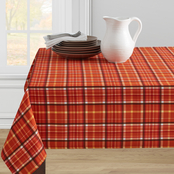 Benson Mills Barn Plaid 60 in. x 120 in. Tablecloth