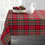 Benson Mills Ascot Plaid 60 in. x 120 in. Tablecloth