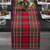 Benson Mills Ascot Plaid 13 in. x 72 in. Table Runner