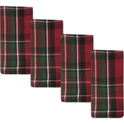 Benson Mills Ascot Plaid 18 in. x 18 in. Napkin Set