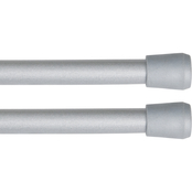 Kenney Strafford 7/16 in. Spring Tension Rod, 2 pk.