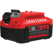 Craftsman V20 4Ah High Capacity Lithium Battery Pack