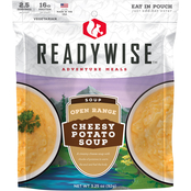Wise Company ReadyWise Camping Meal Open Range Cheesy Potato Soup