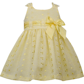 Bonnie Jean Infant Girls Eyelet Pull Through Dress