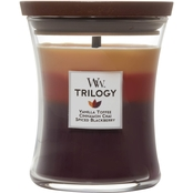 WoodWick Holiday Cheer Medium Hourglass Trilogy Candle