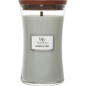 WoodWick Lavender & Cedar Large Hourglass Candle