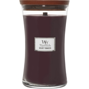 WoodWick Velvet Tobacco Large Hourglass Candle