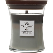 WoodWick Mountain Air Medium Hourglass Trilogy Candle