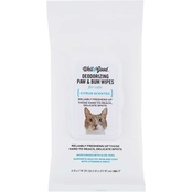 Well & Good Deodorizing Paw and Bum Cat Wipes 24 pk.