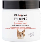 Well & Good Cat Eye Wipes 100 ct.
