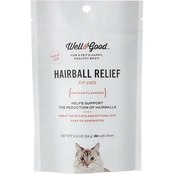 Well & Good Hairball Relief Soft Chews Cat Supplement 60 ct.