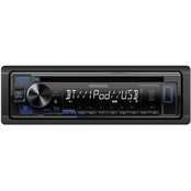 Kenwood KDC-BT278U Single DIN In Dash AM/FM/CD Receiver with Bluetooth