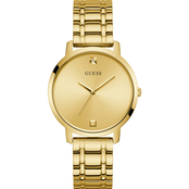 Guess Women's Goldtone Watch U1313L2