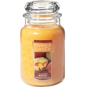 Yankee Candle Mango Peach Salsa Large Jar Candle