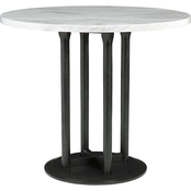Signature Design by Ashley Centiar Round Counter Table