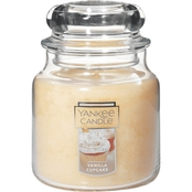Yankee Candle Vanilla Cupcake Classic Jar Candle, Medium