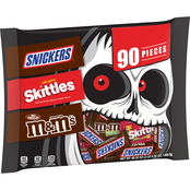 Mars Halloween Treat Variety Bag 90 ct.