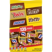 Mars Mixed Chocolate Variety 135 ct.