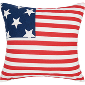 C & F Home Stars And Stripes Pillow, 16 in. x 16 in.