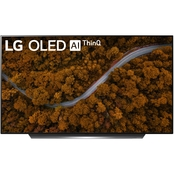 LG 55 in. CX OLED 4K HDR Smart TV with AI ThinQ  OLED55CXPUA