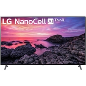 LG 75 in. 90-Series NanoCell 4K TruMotion HDR Smart TV with AI ThinQ 75NANO90UNA