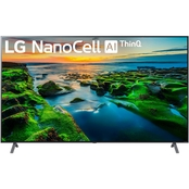 LG 75 in. 9 Series 8K UHD HDR NanoCell 240 TruMotion Smart TV with AI ThinQ
