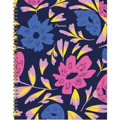 TF Publishing Bright Blooms Undated Large Weekly and Monthly Planner