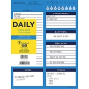 TF Publishing Bright Blue Day Daily Task Pad