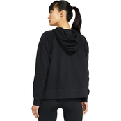Nike Get Fit Fleece Sparkle Pull Over Training Hoodie