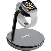 Kanex 3-in-1 GoPower Stand for Apple Watch + Wireless Charging for Apple iPhone