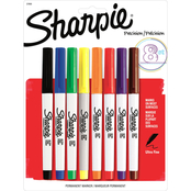 Sharpie 8 pk. Permanent Ultra Fine Point Markers