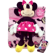 Disney Minnie Mouse Travel Set with Pillow Pal
