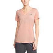 Under Armour Tech V Neck Twist Top