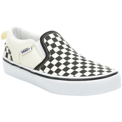 Vans Grade School Boys Asher Slip On Shoes