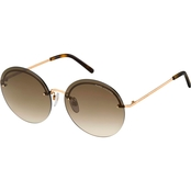 Marc Jacobs Round Rimless Sunglasses MARC406GS 0086HA