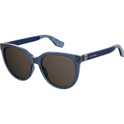 Marc Jacobs Havana Oval Sunglasses MARC445S 0DXH