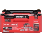Craftsman 216 pc. VersaStack 3 Drawer Mechanics Tool Set