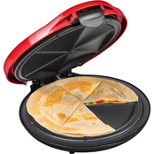 Nostalgia Electrics Taco Tuesday Deluxe 6-Wedge Electric Quesadilla Maker