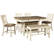 Signature Design by Ashley Bolanburg 6 pc. Counter Dining Set