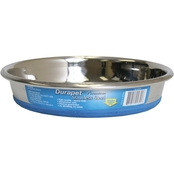 OurPet's Durapet Premium Rubber-Bonded Stainless Steel Cat Dish Bowl