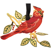 ChemArt Cardinal in Nature Ornament