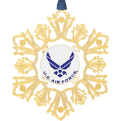 ChemArt U.S Air Force Snowflake Ornament