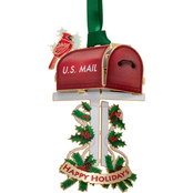 ChemArt Holiday Mailbox Ornament