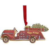 ChemArt Fire Truck 3D Ornament