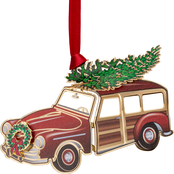 ChemArt Woodie Station Wagon Ornament