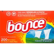 Bounce Dryer Sheets Outdoor Fresh 200 ct.