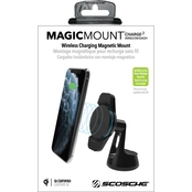 Scosche MagicGrip AutoSensing Qi Wireless Charging Phone Dash Mount