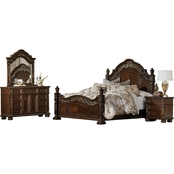 Homelegance Catalonia 4 pc. Queen Bedroom Set