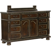 Homelegance Catalonia 9 Drawer Dresser